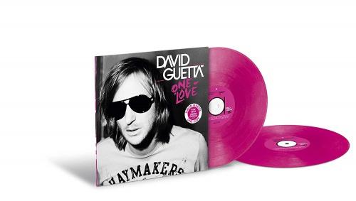 David Guetta One Love 2LP - Pink Vinyl