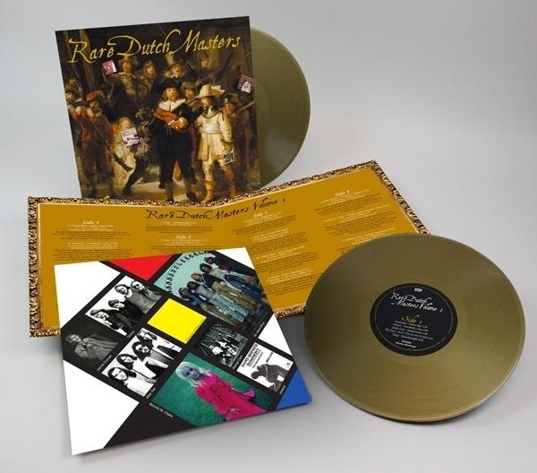 Rare Dutch Masters 2x 10 inch - Coloured Gold Version-.