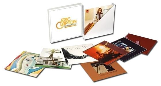 Eric Clapton The Studio Album Collection 1970-1981 180g 9LP Box Set