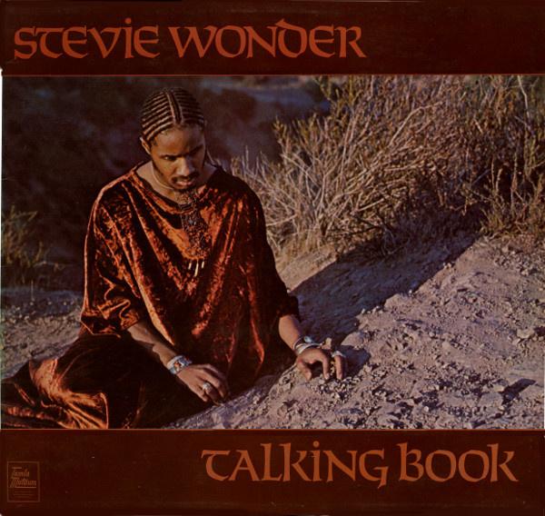 Stevie Wonder Talking Book LP