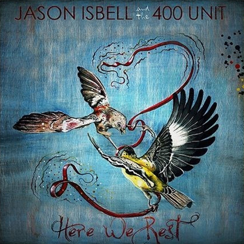 Jason Isbell And The 400 Unit Here We Rest 180g LP - Coloured Vinyl-