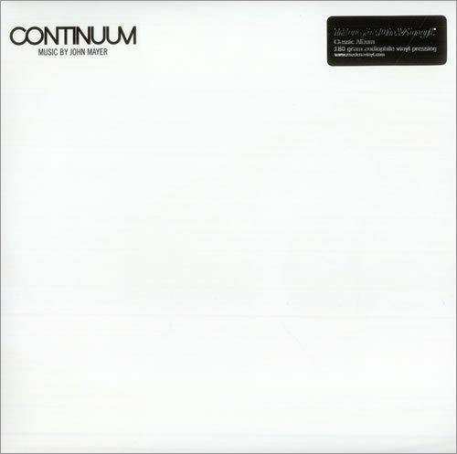 John Mayer Continuum 2LP