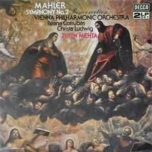 "Zubin Mehta Mahler Symphony No. 2 ""Resurrection"" 180g 2LP"