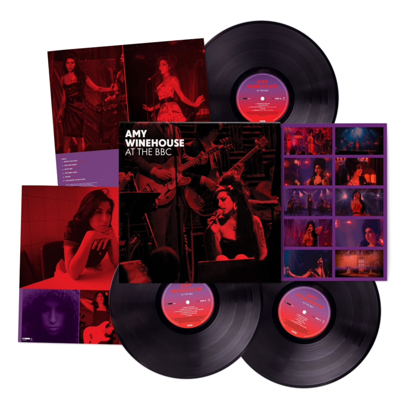 Amy Winehouse At The BBC 3LP