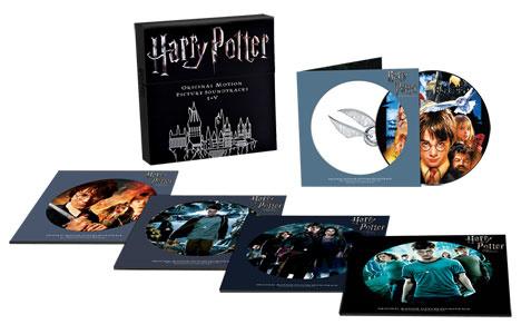 Harry Potter Original Motion Picture Soundtracks I-V 10LP Box Set (Picture Disc)