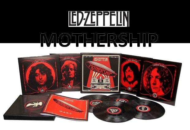 Led Zeppelin Mothership HQ 4LP.