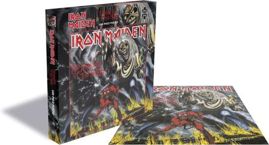 Iron Maiden Number Of The Beast Puzzel