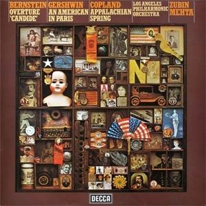 Zubin Mehta Mehta Conducts Bernstein, Gershwin & Copland 180g LP