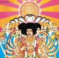 Jimi Hendrix - Axis Bold as Love  LP - Mono-