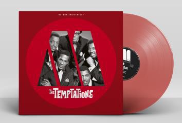 Temptations Motown Anniversary LP - Red Vinyl-