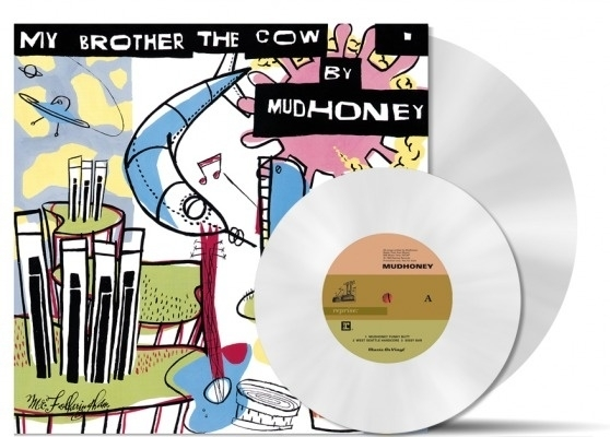 Mudhoney - My Brother The Cow LP + 7 inch  Coloured Version-