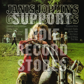 Janis Joplin Janis Joplin's Greatest Hits LP - Coloured Vinyl-