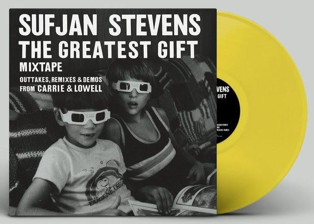 Sufjan Stevens The Greatest Gift LP (Translucent Yellow Vinyl)
