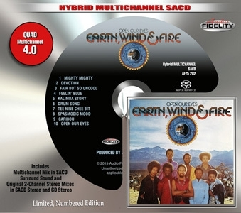Earth, Wind & Fire - Open You Eyes SACD.