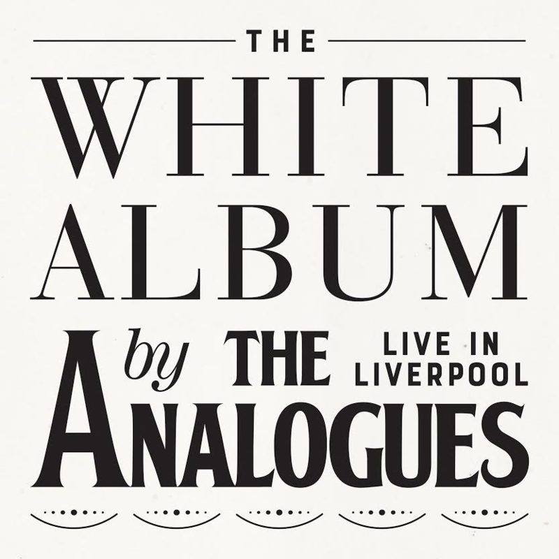 The Analogues The White Album 2CD
