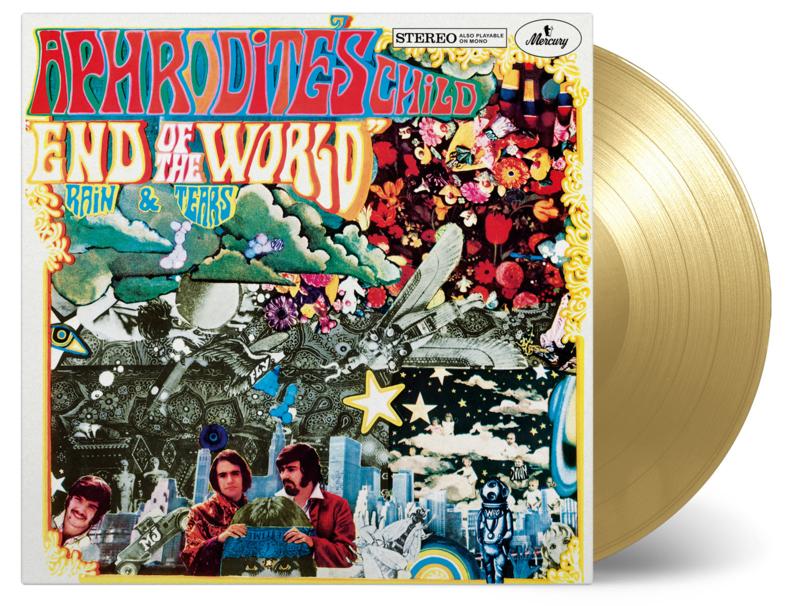 Aphrodite's Child  End Of The World LP - Gold Vinyl-