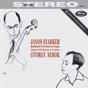JANOS STARKER MENDELSSOHN & CHOPIN CELLO SONATAS LP