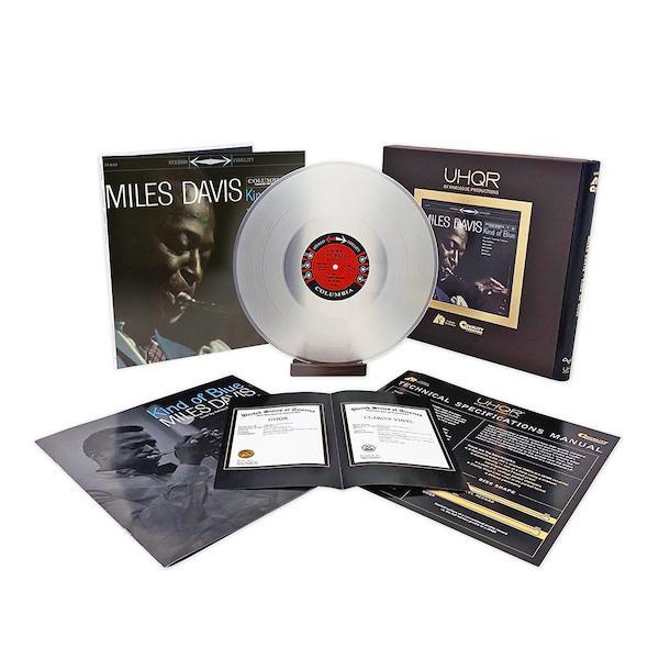 Miles Davis Kind Of Blue 33 RPM 200 Gram LP on Clarity Vinyl