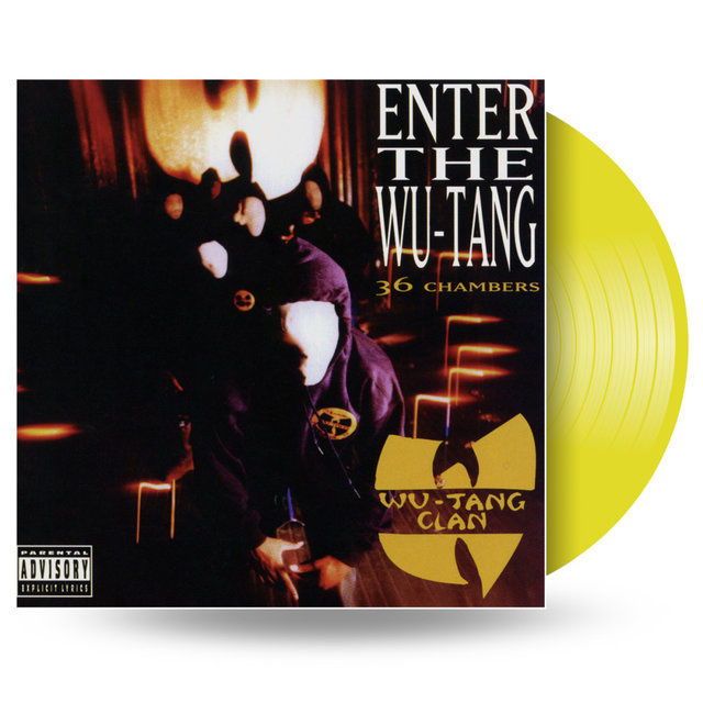 Wu-Tang Clan Enter The Wu-Tang LP - Yellow Vinyl-