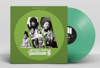 Michael Jackson Jackson 5 Motown Anniversary LP - Green Vinyl-
