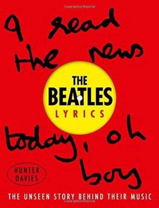 The Beatles Beatles Lyrics Boek -Engels-