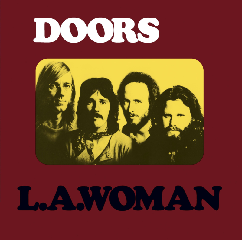 Doors La Woman LP