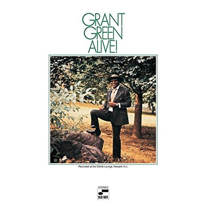 Grant Green Alive! 180g LP Grant Green
