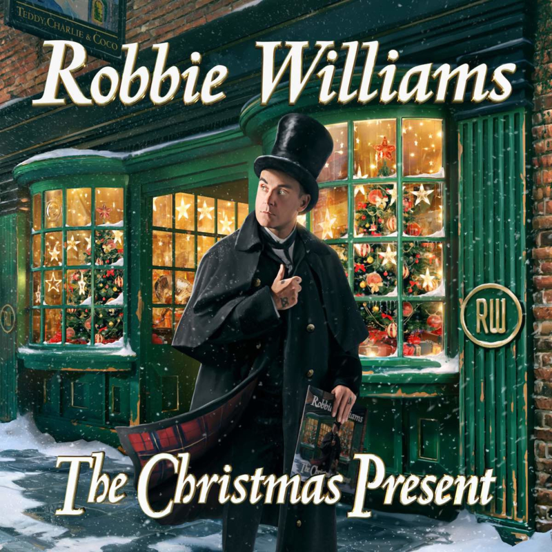 Robbie Williams The Christmas Present 2LP