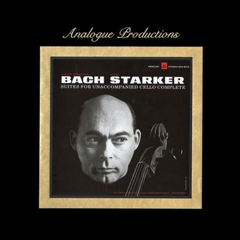 Janos Starker Bach Suites For Unaccompanied Cello Complete 200g 45rpm 6LP