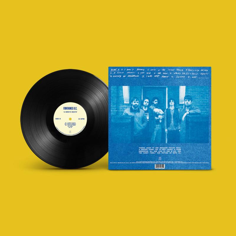 Fontaines  D.C. A Hero's Death LP