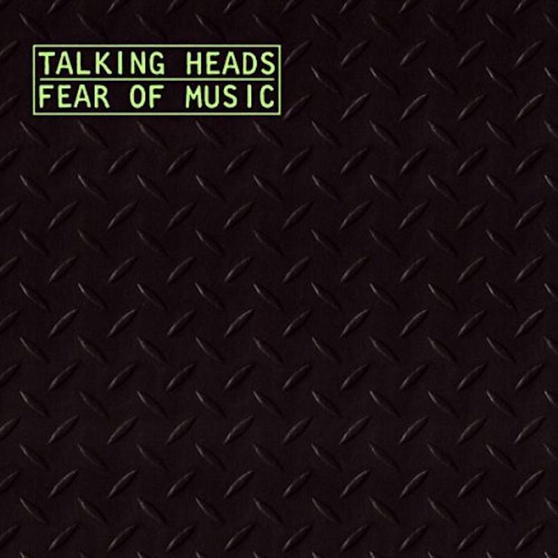 Talking Heads Fear of Music LP -Silver Vinyl-