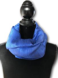 Brede dikke zijden sjaal