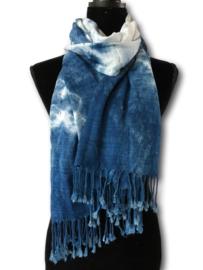 Indigo sjaal
