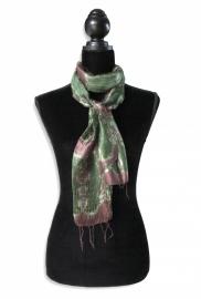 Zijden sjaal Tie-dye