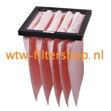 HQ Zakkenfilter F7 voor filterbox  HQ 606
