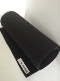 Filterdoek  zwart G3 - 5 mm. dik