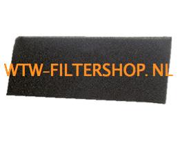 Itho Daalderop luchtgordijn filterset Comfortflow - Uniline 100 - 557-9070
