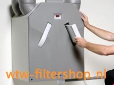 Handleiding voor het vervangen van Zehnder kunststoffilters plaatfilters WHR  930 | 950 | ComfoAir