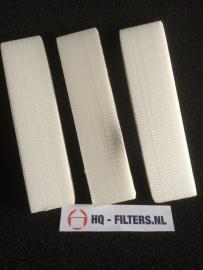 1 set 3M High Airflow Filters voor luchttoevoerkanaal ClimaRad 2.0 horizontaal - 3594301 - Art.nr. 301