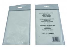 HQ Universele microfilter voor stofzuigers art.nr 5099