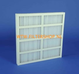 Paneelfilters kartonnen frame, Serie PFK-M5