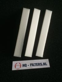 1 set 3M High Airflow Filters voor luchtafvoerkanaal ClimaRad 2.0 horizontaal - 3594601 - Art.nr. 601