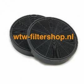 Koolstoffilter Electrolux EFF62 (2 stuks)  -  50290659007