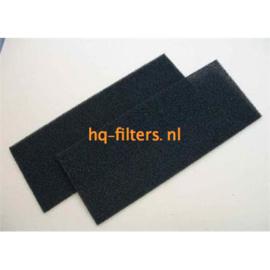 filters Biddle luchtgordijn type G 100 | 4 stuks