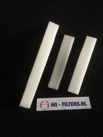 1 set 3M High Airflow Filters voor luchtafvoerkanaal ClimaRad 1.1 Sensa horizontaal - 3594801 - Art.nr. 801