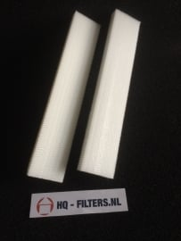 1 set 3M High Airflow Filters voor luchttoevoerkanaal ClimaRad Verti - 3594701 - Art.nr. 701