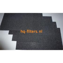filters Biddle luchtgordijn type G 200 | 4 stuks