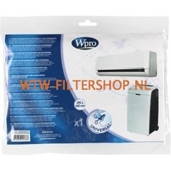 Universele filter voor airconditioner (290 x 460 mm) AFI106 WPRO 484000008643