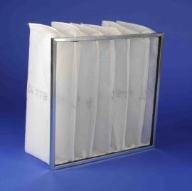 Zakkenfilters G4 metalen frame - Serie MFZ
