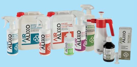 Air Alixo reinigingsmiddelen
